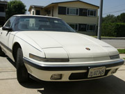 1988 Buick Reatta Red Convertible