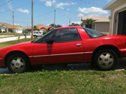 1988 Buick Reatta RED coupe