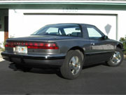1990 Buick Reatta Grey Coupe