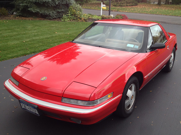 1989-41 Red Coupe