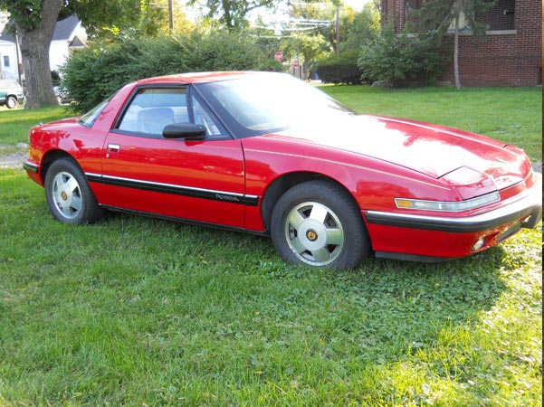 1989-46 Red Coupe