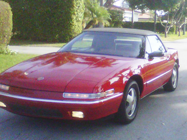1990 Red Buick Reatta Convertible $11,000