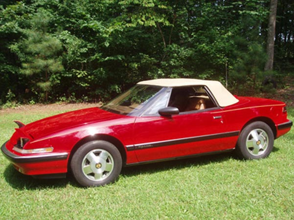 1990-17 Red Ragtop