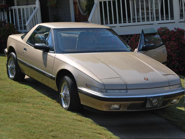 1990 Champagne Buick Reatta Coupe $5,500